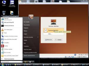 KK corriendo en Windows Vista gracias Virtual BOX
